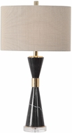 Uttermost 27886 Alastair Plated Gold Lighting Table Lamp