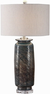 Uttermost 27919 Olesya Swirl Glass Table Light