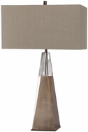 Uttermost 27932 Priam Modern Plated Antiqued Brass Table Light