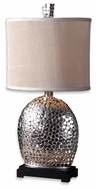 Uttermost 279421 Harrison Silver Contemporary Table Lamp