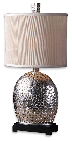 Uttermost 279421 Harrison Silver Contemporary Table Lamp Loading Zoom