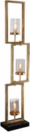 Uttermost 28189-1 Cielo Staggered Rectangles Floor Lamp