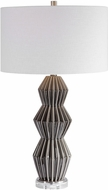 Uttermost 28203-1 Maxime Smokey Gray Table Lighting
