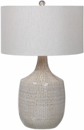 Uttermost 28205-1 Felipe Gray Lighting Table Lamp
