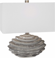 Uttermost 28210-1 Talucah Gray Table Lamp