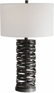 Uttermost 28213 Alita Rust Black Lighting Table Lamp