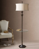 Uttermost 282351 Brazoria Floor Lamp with Tray