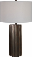Uttermost 28264 Khalio Gun Metal Table Light