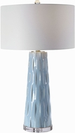 Uttermost 28269 Brienne Light Blue Lighting Table Lamp