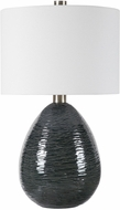 Uttermost 28272-1 Arikara Deep Teal Green Table Lamp