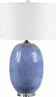 Uttermost 28286-1 Westerly Blue Table Lamp
