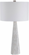 Uttermost 28287 Apollo Off-white, Light Gray, And Taupe Tones, With Brushed Nickel Table Lamp