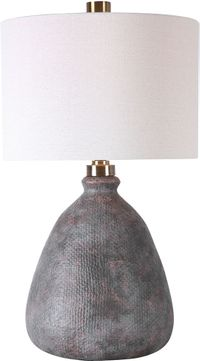 Uttermost 28341-1 Bandera Distressed Table Lamp