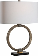 Uttermost 28371-1 Relic Aged Gold Table Lamp