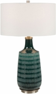 Uttermost 28376-1 Scouts Teal green Table Lighting