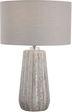 Uttermost 28391-1 Pikes Stone-Ivory Table Lamp