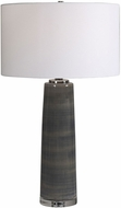 Uttermost 28413 Seurat Charcoal Gray Table Lamp