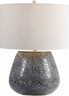 Uttermost 28445-1 Pebbles Charcoal Gray Table Lighting