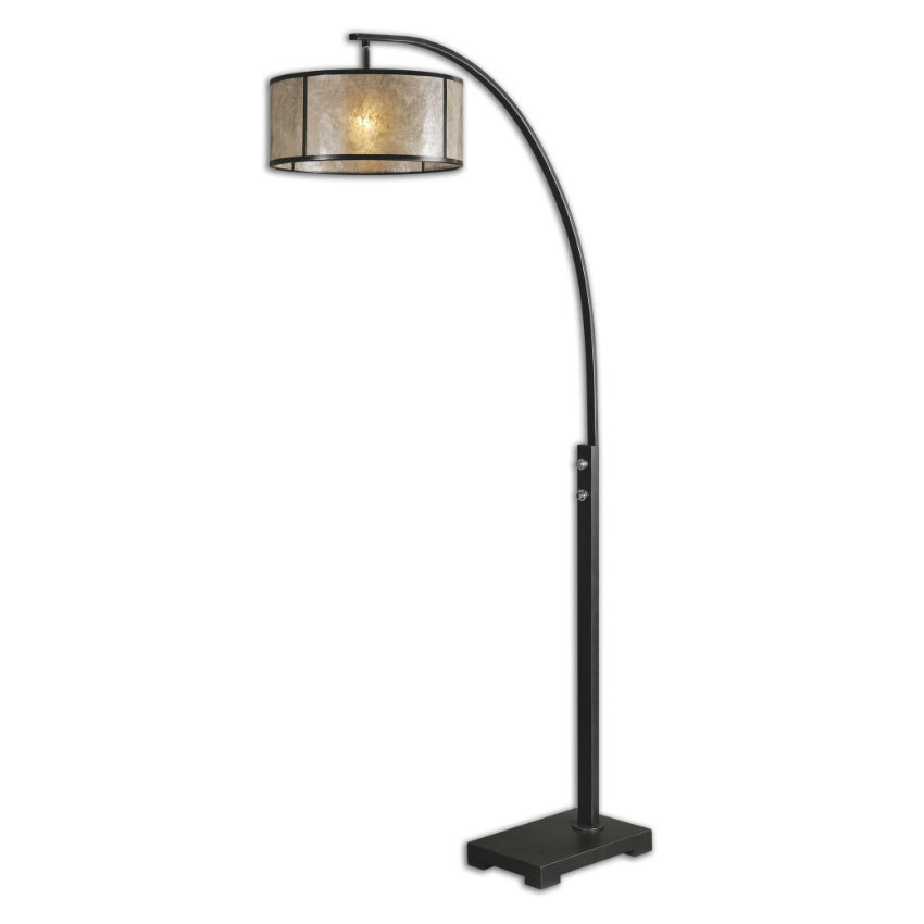 Uttermost 28597 1 Cairano Oil Rubbed Bronze Finish 79 5 Nbsp Tall Floor Lamp Loading Zoom