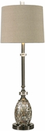 Uttermost 29198-1 Ceredano Polished Nickel Buffet Lighting Table Lamp