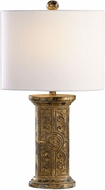 Uttermost 29226-1 Latina Antiqued Gold Table Lighting