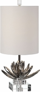 Uttermost 29256-1 Silver Lotus Accent Lamp