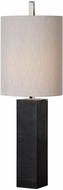 Uttermost 29359-1 Delaney Black Marble Column Novelty Lighting