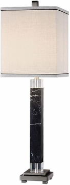 Uttermost 29365-1 Brigida Black Marble Accent Light