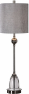 Uttermost 29368-1 Gallo Modern Nickel Buffet Lamp