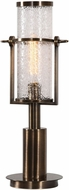 Uttermost 29381-1 Marrave Contemporary Plated Antique Brass Table Top Lamp