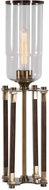 Uttermost 29548-1 Rostand Modern Plated Antique Brass Table Lamp
