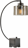 Uttermost 29552-1 Cervino Contemporary Plated Dark Oil Rubbed Bronze Table Lamp Lighting
