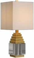 Uttermost 29561-1 Anubis Metallic Gold Leaf Table Lighting