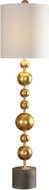 Uttermost 29566-1 Selim Gold Buffet Lamp