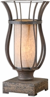 Uttermost 29573-1 Minozzo Brass Buffet Lighting Table Lamp