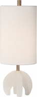 Uttermost 29633-1 Alanea White Buffet Table Lamp