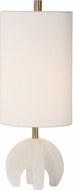 Uttermost 29633-1 Alanea Contemporary White Buffet Lamp