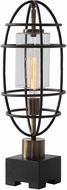 Uttermost 29645-1 Newton Industrial Accent Lamp
