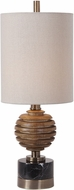 Uttermost 29646-1 Anatola Wood Sphere Buffet Lamp
