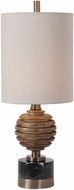 Uttermost 29646-1 Anatola Mahogany Stain Buffet Lighting Table Lamp