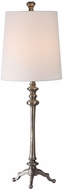 Uttermost 29648-1 Delilah Raw Steel Buffet Table Top Lamp
