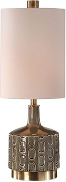 Uttermost 29682-1 Darrin Contemporary Gray Table Lamp