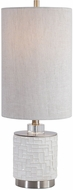 Uttermost 29731-1 Elyn Glossy White Table Lighting