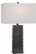 Uttermost 29737 Sanderson Metallic Charcoal Table Lighting