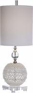 Uttermost 29741-1 Mazarine Open Ceramic Buffet Lamp