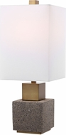 Uttermost 29745-1 Auckland Modern Granite Buffet Lamp