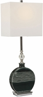 Uttermost 29787-1 Recina Dark Teal green Table Light