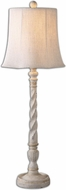 Uttermost 29974 Arcevia Aged Ivory Finish 12.5 Wide Buffet Lighting Table Lamp