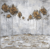 Uttermost 31304 Iced Trees Contemporary Wall Art