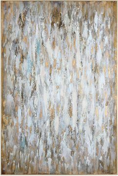 Uttermost 31408 Bright Morning Contemporary Gold Leaf Wall Decor